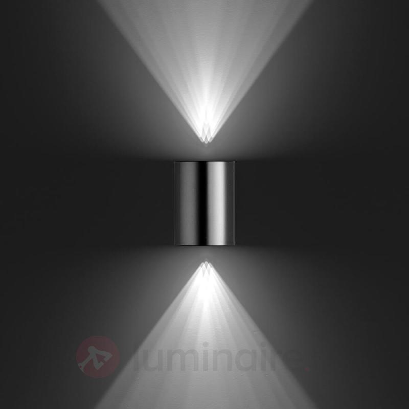 Applique d'extérieur LED Buis en inox - Appliques d'extérieur inox