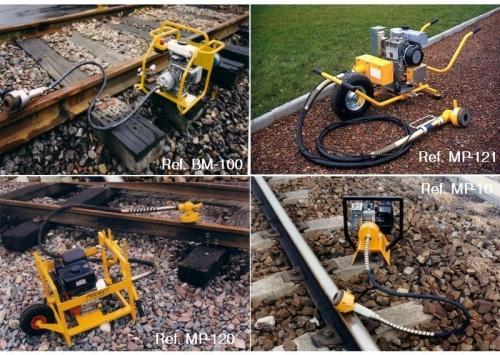 Meuleuses de rail thermiques portatives - null