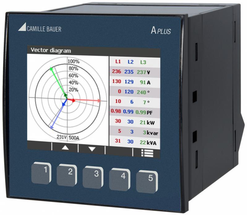 APLUS - Acquisition simultanée de plusieurs grandeurs réseau à courant fort quelconque.