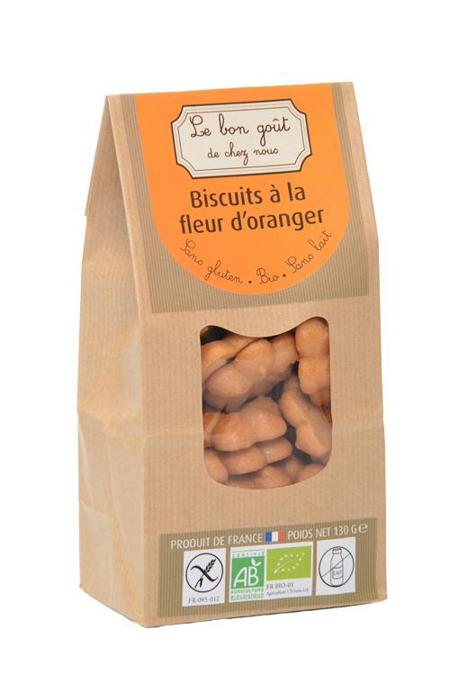 Biscuits à la fleur d'oranger - Épicerie sucrée