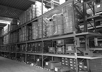 achberg production - warehouse/shipping department