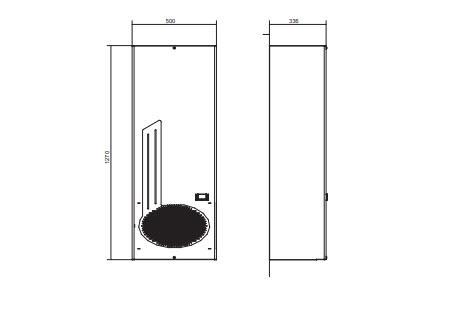 Ego30 Condizionatori Per Montaggio A Porta O Parete - LINEA CLIMATIZZAZIONE