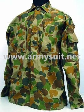 Australian Army Camo Woodland Auscam BDU Uniform - PNS-A001