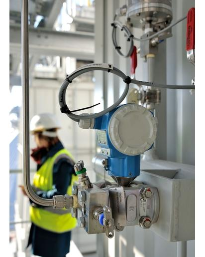 Capteur - transmetteur de pression différentielle Deltabar PMD75 - Mesure de pression