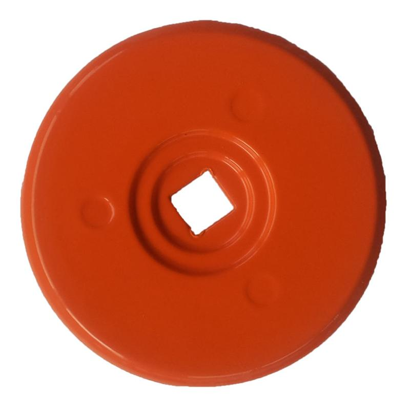 CLOUS DE REPERAGE - RONDELLE D'ARPENTAGE 70 mm rouge par 10