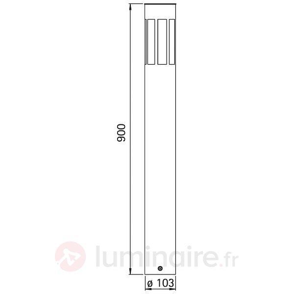 Borne lumineuse 474 fabriquée en Allemagne - Bornes lumineuses inox