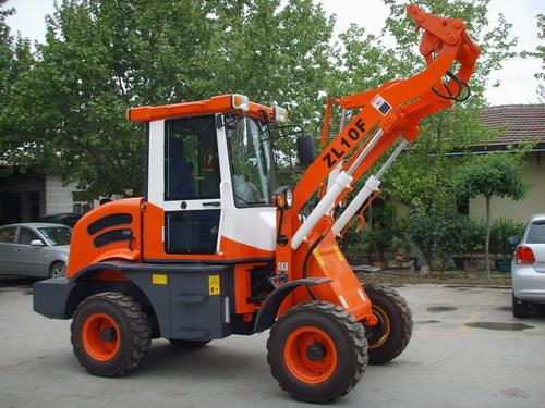 1.0T Small Wheel Loader with CE model ZL10F - 1.0T CE Marked Small Wheel Loader model ZL10F