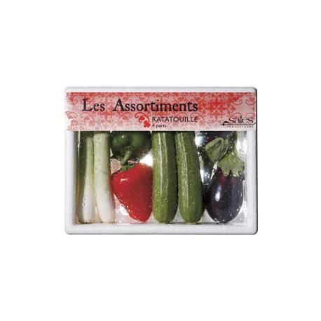 Mini assortiment ratatouille - Mini légumes Français