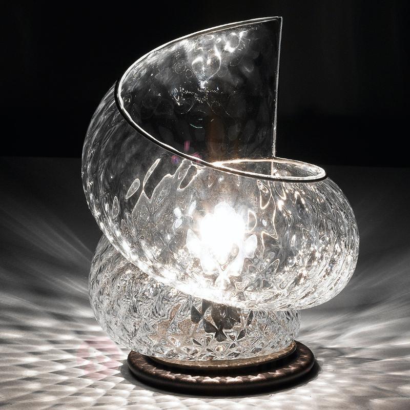 Lampe à poser Chiocciola saisissante - Lampes de chevet