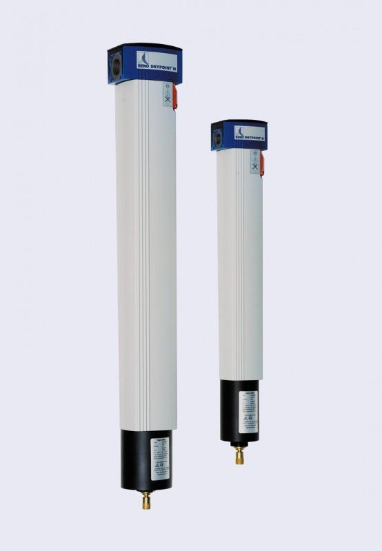 Essiccatori - DRYPOINT =  essiccatori a ciclo frigorifero, ad adsorbimento ed a membrana
