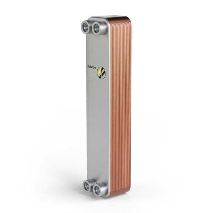 Паяные пластинчатые теплообменники - Широкий диапазон размеров для различных мощностей