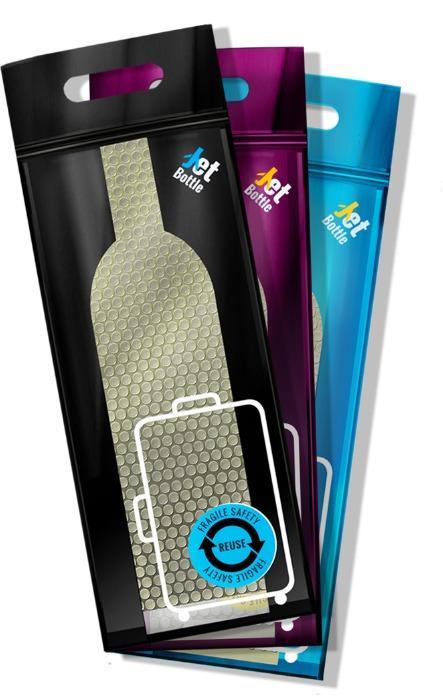 Emballage innovant Jetbottle - Transport sans danger des bouteilles et de tous vos effets personnels