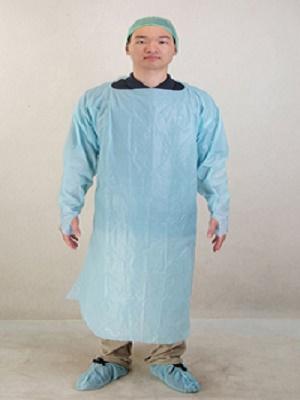 Productos de plástico desechables CPE Vestido - EM-BW-CG-1