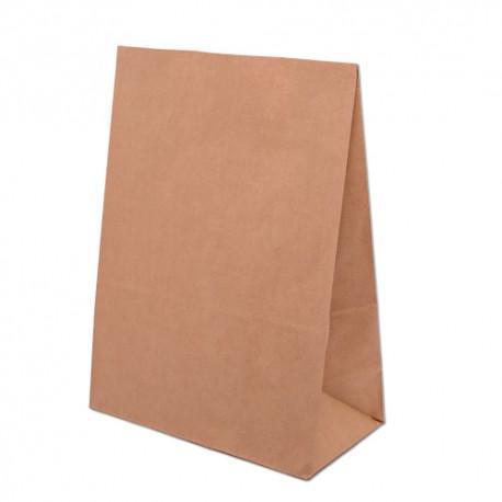 Papiertasche ohne Griffe mit Boden