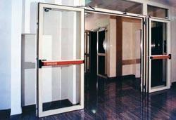 Porta antincedio - Porta antincedio vetrata REI 60