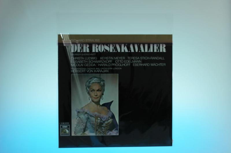 Klarsichtschutzhülle für LP - mit selbstklebender Klappe - Klarsichttaschen für LP's