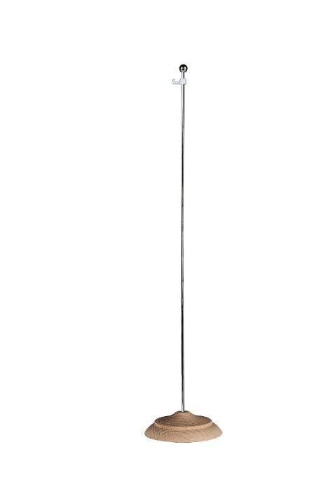 Aste di supporto per gagliardetti - Asta con base, ideale per supporto di gagliardetti su tavoli e scrivanie
