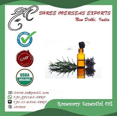 Organic Rosemary oil - USDA Organic