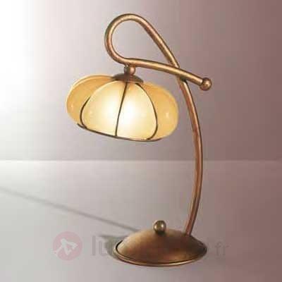 Lampe à poser LOTO fabriquée à la main - Lampes à poser classiques, antiques