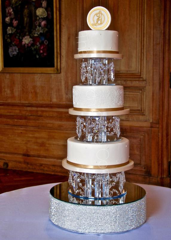 Gâteaux et Pièces Montées sur-mesure - Pièce Montée Cristal Swarovski