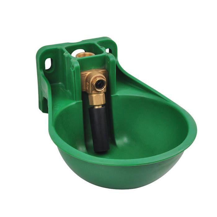 2.6L Plastic/pp drinking bowl/trough for horse / Cow  - 2.6L Hose and Cow Feeding Trough Drinking Bowl with Tongue