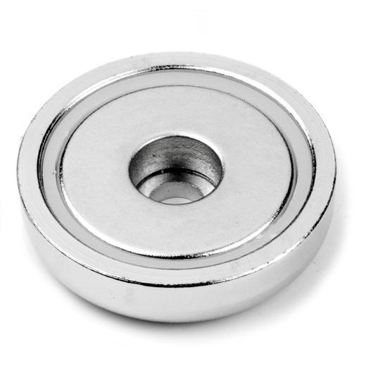 Topfmagnete mit zylindrischer Bohrung - null