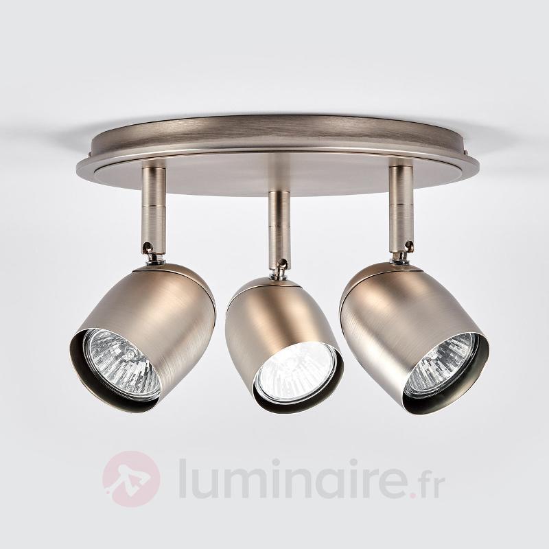 Plafonnier circulaire mat GU10 Mariana - Spots et projecteurs halogènes