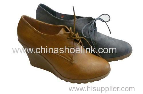 lady shoe with heel - Pump shoe,wedge shoe,