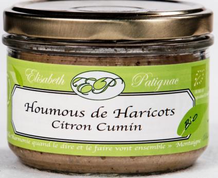 Houmous de Haricots, Citron , Cumin - Epicerie salée