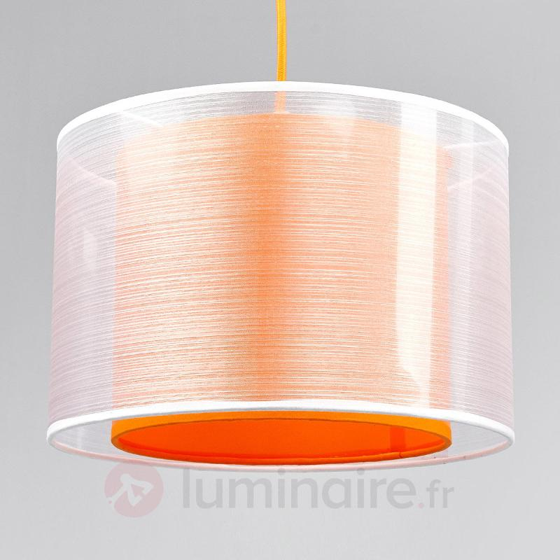 Suspension en tissu Jasna, orange - Suspensions en tissu