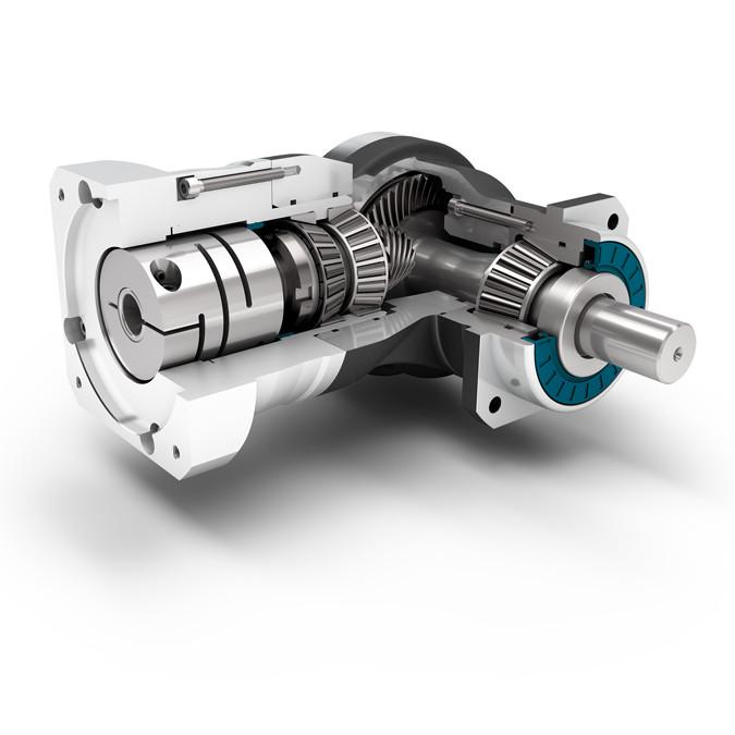 WPLN - Reductor angular versátil con dentado cónico helicoidal, WPLN, Neugart GmbH