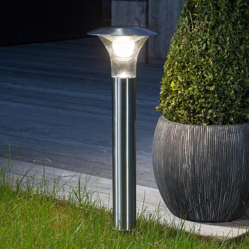 Luminaire solaire LED sur piquet Jolin - Toutes les lampes solaires