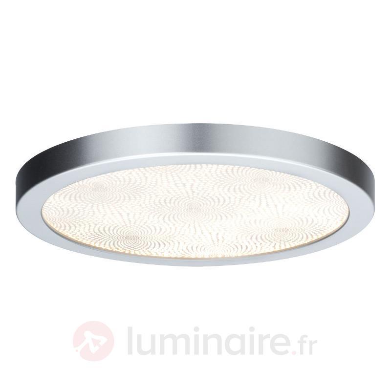 Plafonnier de salle de bain rond Ivy avec LED - Salle de bains