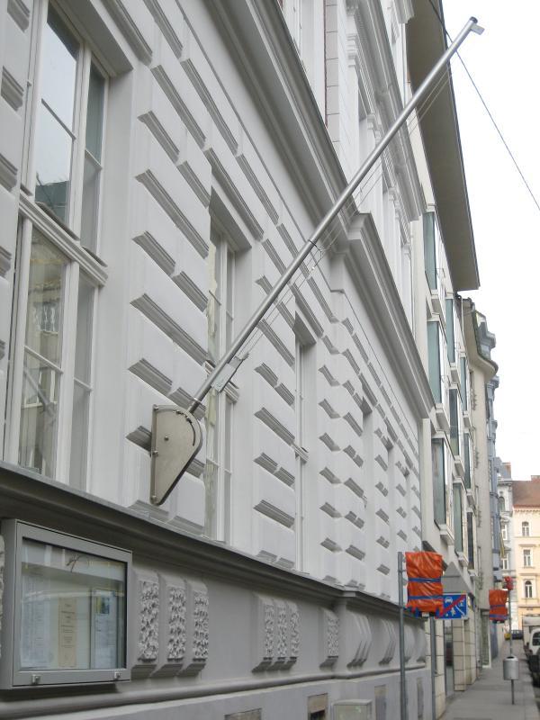 WV1 Wandhalterung für Fahnenmasten - null