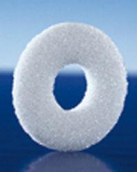 Plaque filtrante avec trou DURAN - null