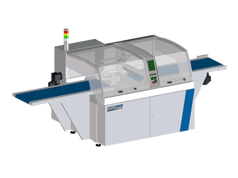 flexo H Form Fill and Seal Machine - A flexible all-rounder for wood and long parts from 800 mm in length.