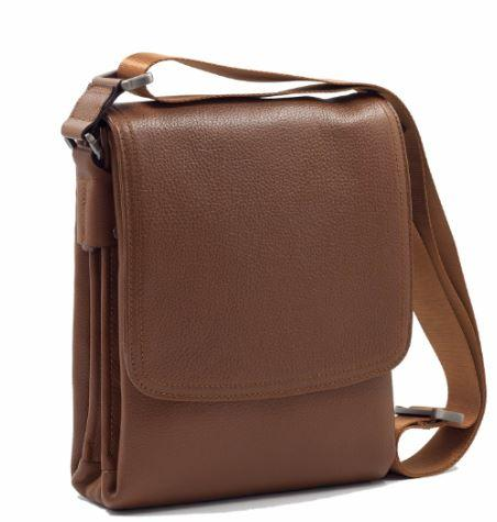 Calf Leather Trend Men Handbag