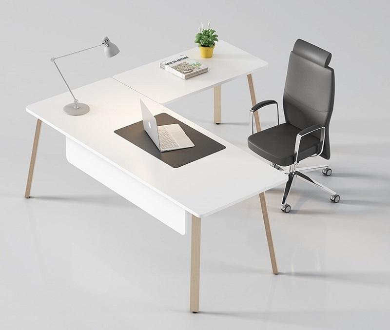 Mobiliario de ofician estilo nórdico - despachos - Despacho o puesto operativo de estilo moderno nórdico