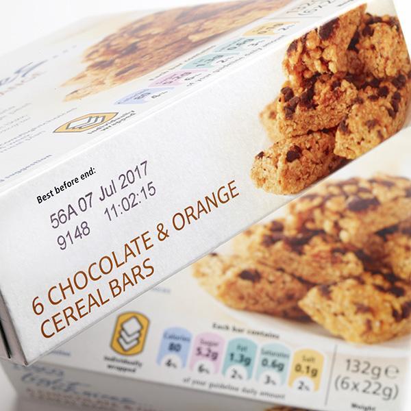 Imballi secondari per prodotti dolciari - Tutte le soluzioni per la codifica e marcatura, ispezione e controllo,...