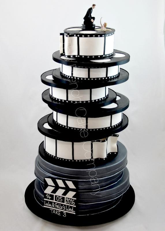 Gâteaux et Pièces Montées sur-mesure - Pièce Montée Thème Cinema
