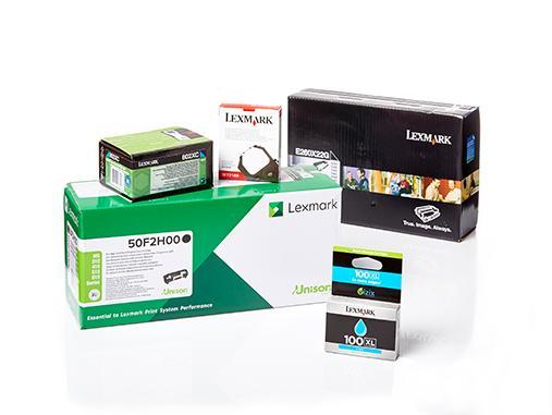 Original Lexmark Verbrauchsmaterialien und Ersatzteile