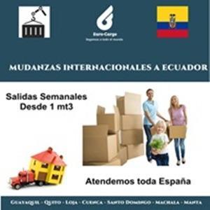 Mudanzas a Ecuador - Desde España