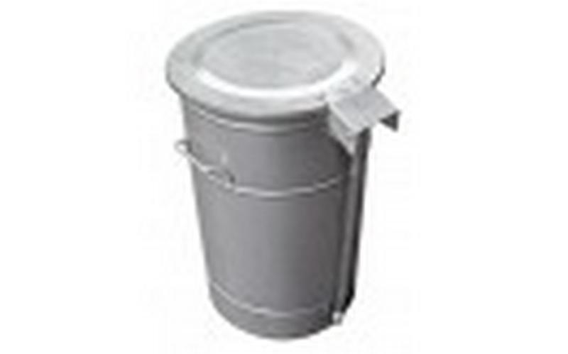 Round waste bin - null