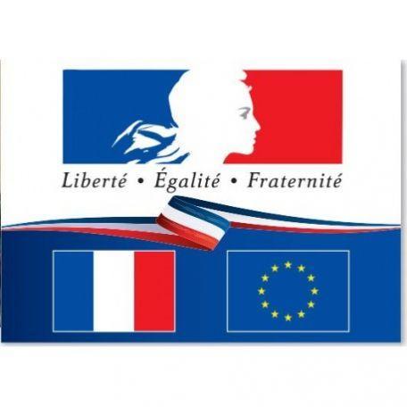 """Plaques """"Liberté Égalité Fraternité"""" pour... - Fêtes et Cérémonies"""
