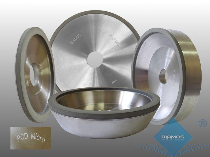 Ściernice diamentowe serii PCD-micro  - do ostrzenia narzędzi PCD / PKD/ PCBN