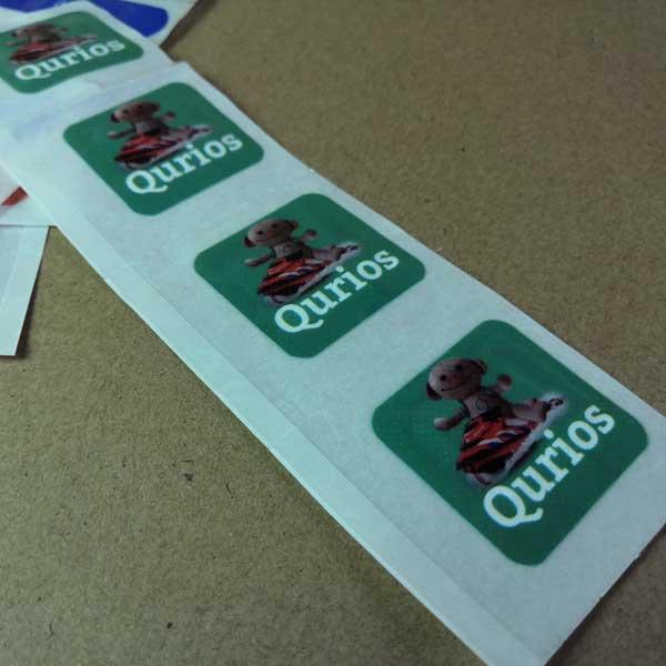 Printed band-aids - Individual printed band-aids