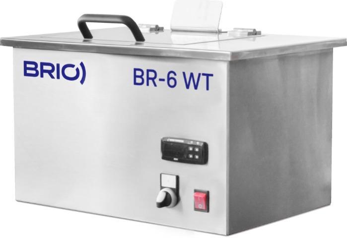 BR-6 WT - Máquina de limpieza por ultrasonidos manual de 6 L