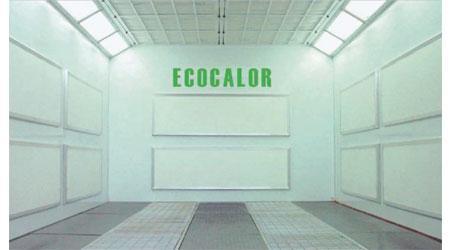 Paneles endotérmicos para cabinas de pintura
