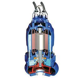 Submersible sewage pumps - PXFlow / PXGrind