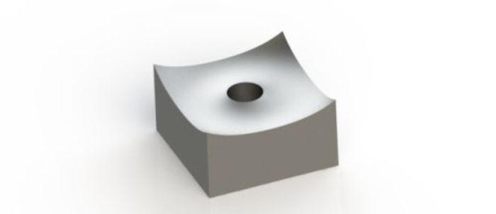 Schneidkrone 80x80x45 mm für VECOPLAN® Shredder und... - null